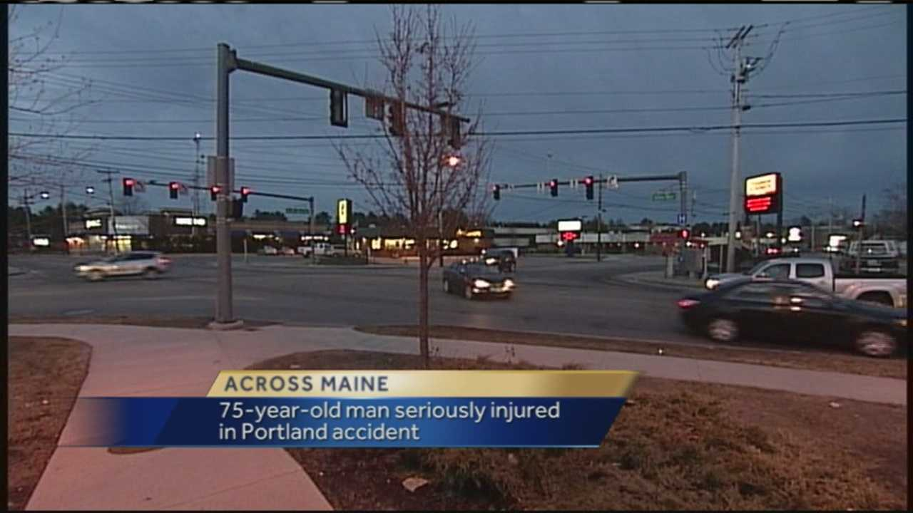 Portland police are investigating a crash on Allen Avenue that seriously injured a pedestrian. WMTW News 8's Katie Thompson has more.