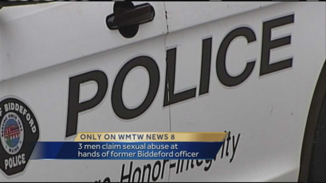 A month-long WMTW News 8 investigation reveals three men have come forward claiming sexual abuse at the hands of a former Biddeford police officer.