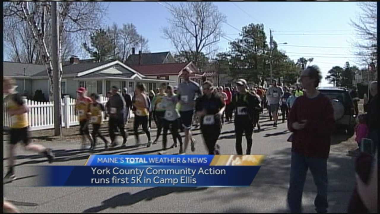 More than 200 runners hit the pavement Sunday for York County Community Action.