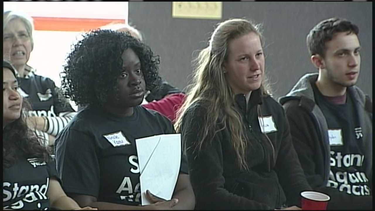 The YWCA of Central Maine is combating differences in the community by standing against racism.