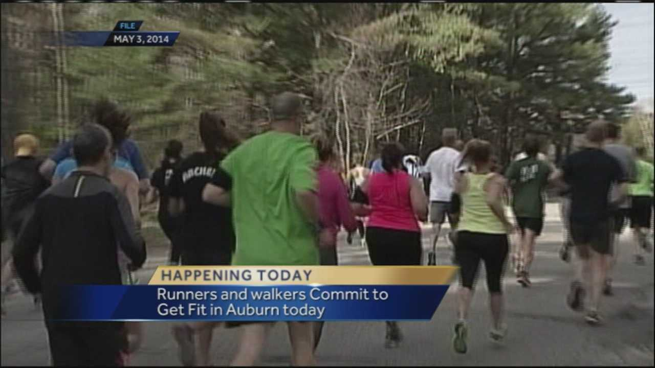 Runners and walkers are making the commitment to get fit and have fun today in Auburn as part of the second annual St. Mary's Commit To Get Fit Challenge. WMTW News 8's Morgan Sturdivant talks with organizers.