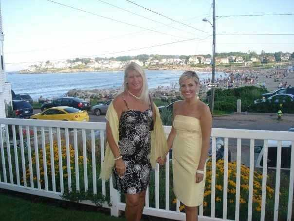 WMTW News 8 Anchor Erin Ovalle with her mom Josephine.