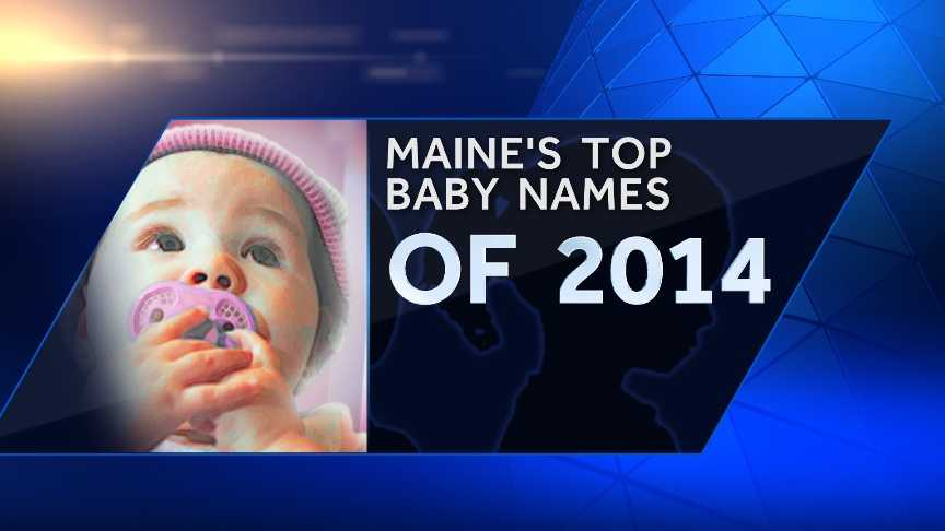 The Social Security Administration has released the most popular baby names of 2014. Click through to check out the top 10 most popular names for girls and boys in Maine last year.