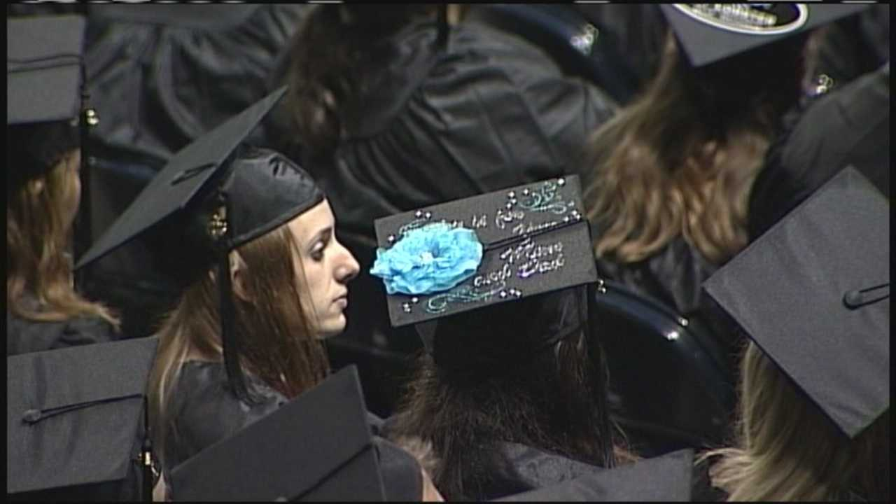 More than 1,000 students received degrees at Sunday's commencement ceremony at Southern Maine Community College.