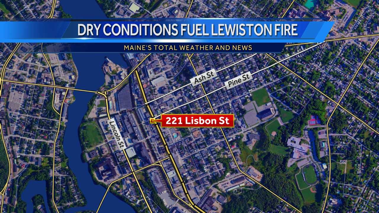 The Lewiston Fire Department telling News 8 improperly disposed of smoking materials landed in dry mulch.