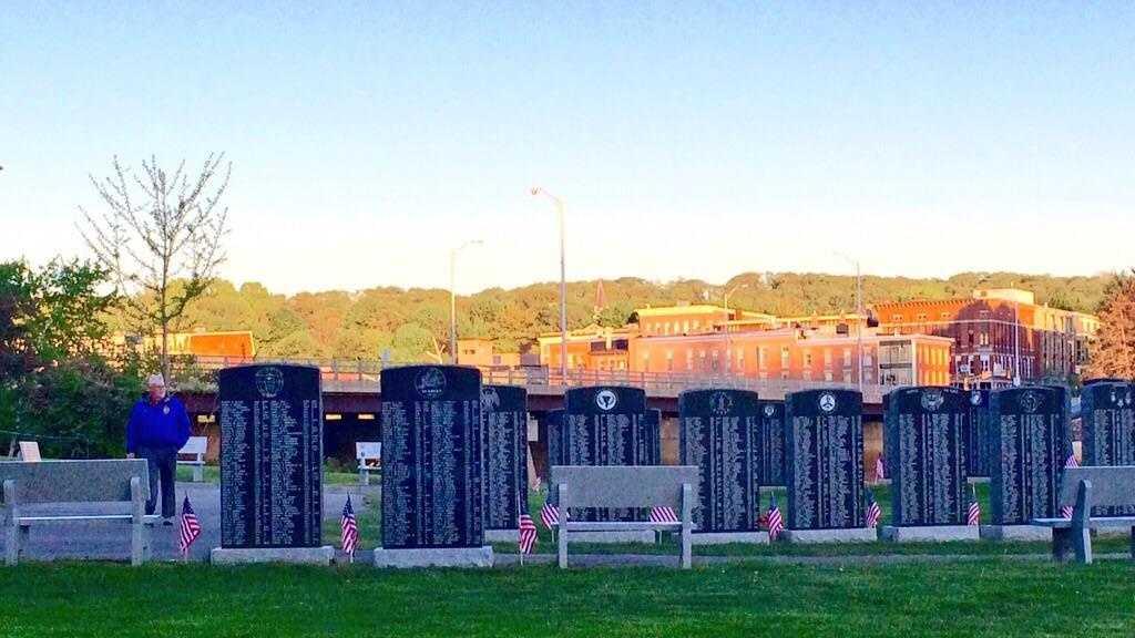 Lewiston's Veterans Park prepares for Memorial Day ceremony Saturday