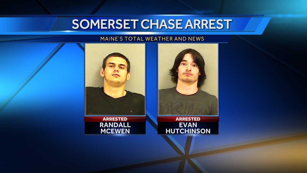Two men have been arrested following an early Saturday morning chase in Somerset county.