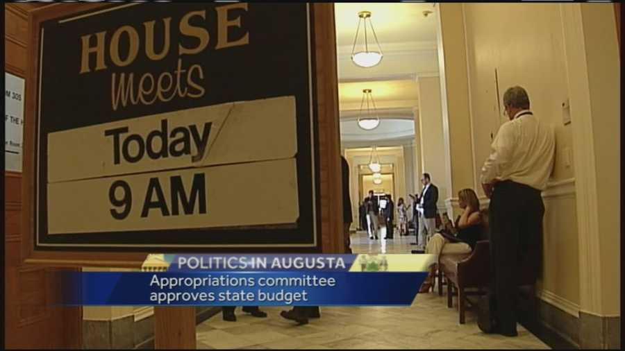 Committee Oks Budget Plan Opposed By House Gop Lepage