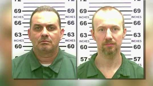 Authorities have identified a person of interest in connection with the escape of two prison inmates. Hannah McDonald reports.