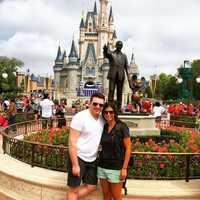 David had not been to Walt Disney World until he was 26.