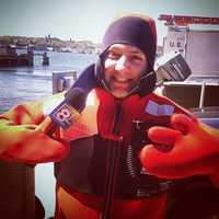 WMTW meteorologist Sarah Long says one word to describe David is determined.