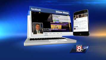 """David is big on social media. You can find him on Twitter @DavidWMTW and on Facebook by searching, """"David Charns WMTW."""""""
