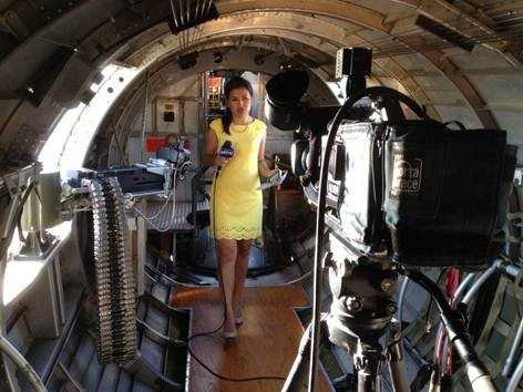 "Courtney's first job in TV news took her to ""The Spam Capital of the World"" of Austin, Minnesota."