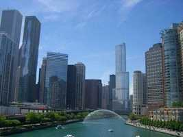 This is a picture of one of Courtney's favorite spots in Chicago