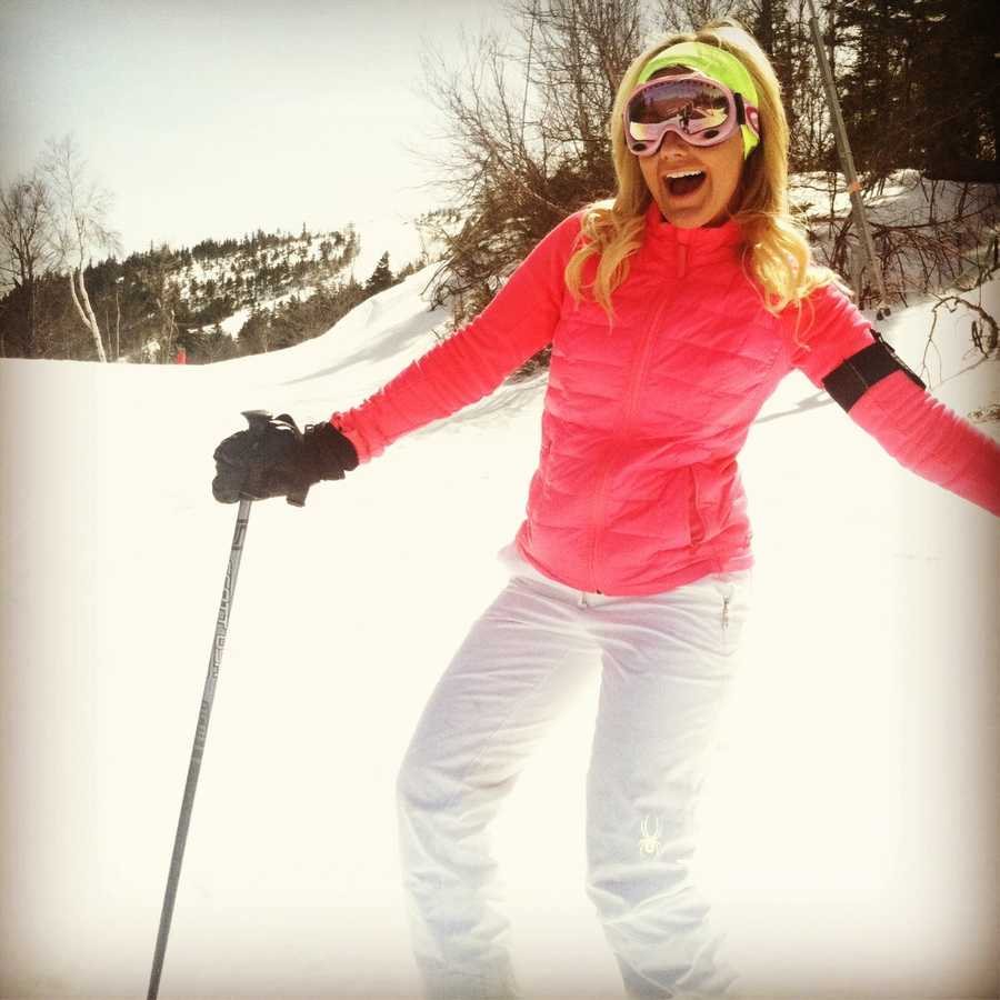 Erin has been skiing since she was 4. She took her first run at Mt. Cranmore.
