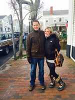 Nantucket is one of Erin's favorite places to visit, especially during the quiet winter months. This is Erin and her boyfriend, Justin, enjoying the island's charm on New Year's Day.