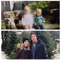 Katie has one brother, Stephen. He is 3 years younger and works as a landscape architect in Yarmouth.