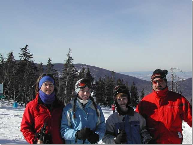 Katie's parents spent many winter weekends at Sugarloaf Mountain teaching a young Katie and her brother Stephen to ski. It paid off and went on to help make wonderful memories.