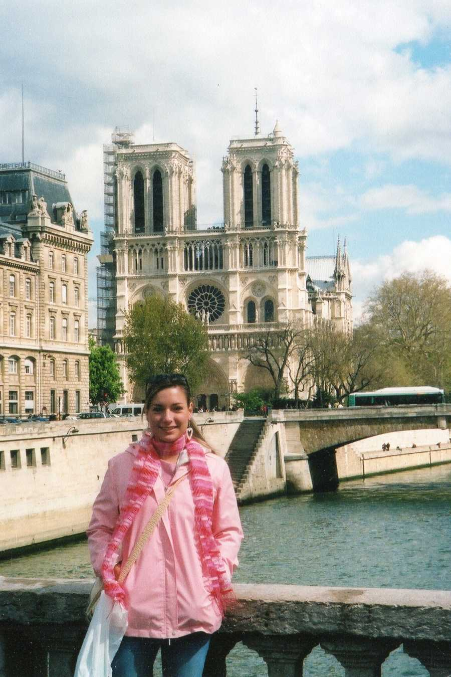 Katie visited Europe once, but she would love to go back. She was lucky enough to visit Paris, France, with her Aunt Bitsy.