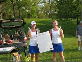 In 2006, Margaret Johnston helped Katie win the high school state doubles championship tournament. The pair was the No. 1 seed after going undefeated that season.