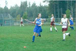 Katie's favorite sport to play is field hockey. She played right wing for Kennebunk High School and was a co-captain her senior year.