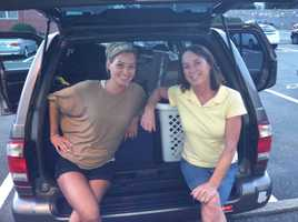 In July 2011, Katie packed up her car and headed south, weeks after receiving a job offer at a TV station in Abilene, Texas. Her mom, Cyndy, came for the 3-day road trip. What a trip it was!