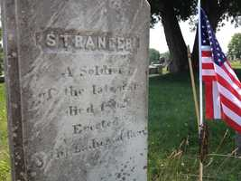 The headstone only refers to the soldier as stranger. A woman at the cemetery said the body of the Confederate soldier was sent to Maine by mistake during the Civil War.