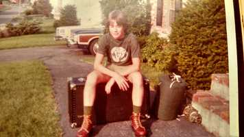 Roger's teenage summers were spent as a counselor at a Boy Scout camp. Nice boots!