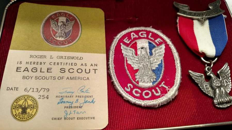 Roger is an Eagle scout.