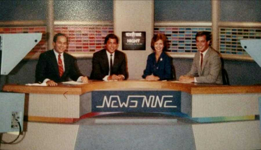 Roger's first on-air television job was at WMTW's sister station WMUR in Manchester, NH.