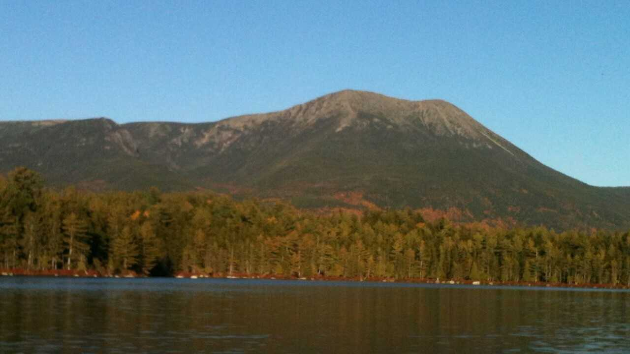 His favorite place in Maine is Baxter State Park.