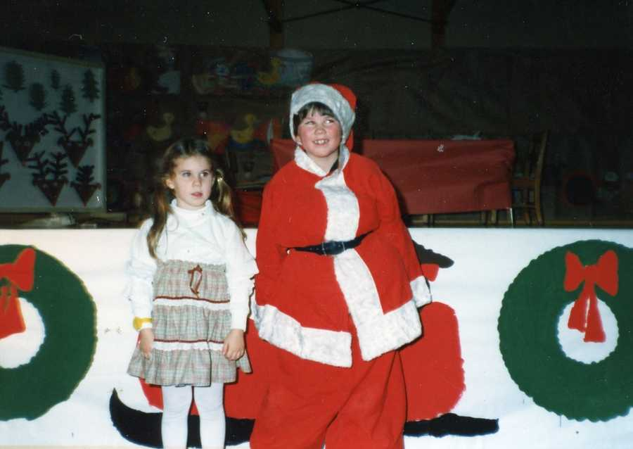 """Travis doesn't mind an audience. His first foray into the spotlight was when he was cast as the lead role in """"Santa and the Snowmoblie"""" in 3rd grade."""