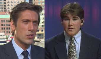 Travis attended Ithaca College. At Ithaca, he was a classmate of and co-anchor on the college's TV station with ABC News anchor David Muir.