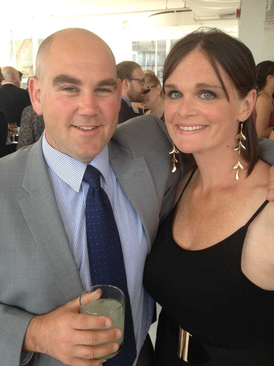 Travis' wife Amy once worked at WMTW as a producer.