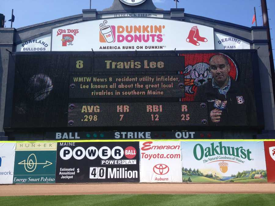 Mainers know Hadlock Field as the state's epicenter of baseball. Travis played high school baseball on Hadlock Field---before there was even a stadium enclosing the diamond.