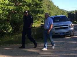 Dick Moreau said Maine State Police and Maine Game Wardens have two dog teams each and are doing a grid search of the property.