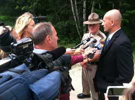 State police said on Thursday they were searching the property of Brian Enman, who was one of the last people to Moreau alive.