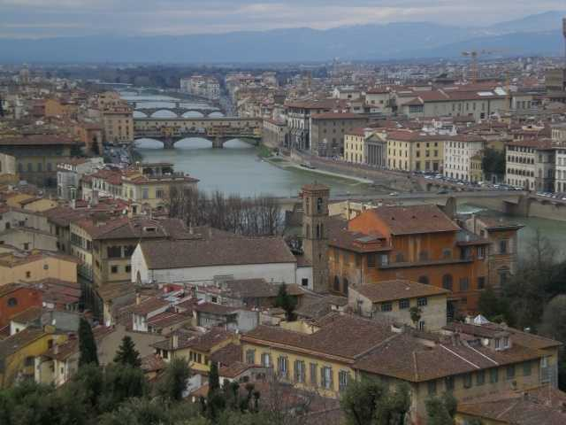 Tracy's favorite city is Florence, Italy.