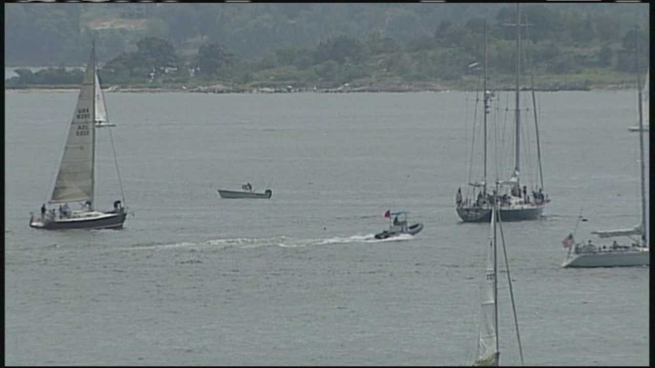 The National MS Society holds a regatta in Portland to help raise money in the fight to cure MS.
