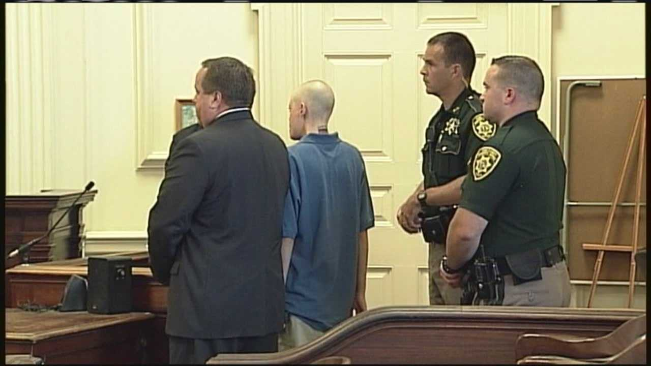 Connor MacCalister, accused of killing a 69 year old woman in a Saco Shaws, appeared before a judge Friday afternoon. WMTW's Kyle Jones has our story.