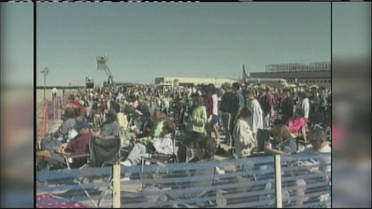 We go back 10 years to the 2005 Great State of Maine Air Show. WMTW News 8's Jim Keithley was there.