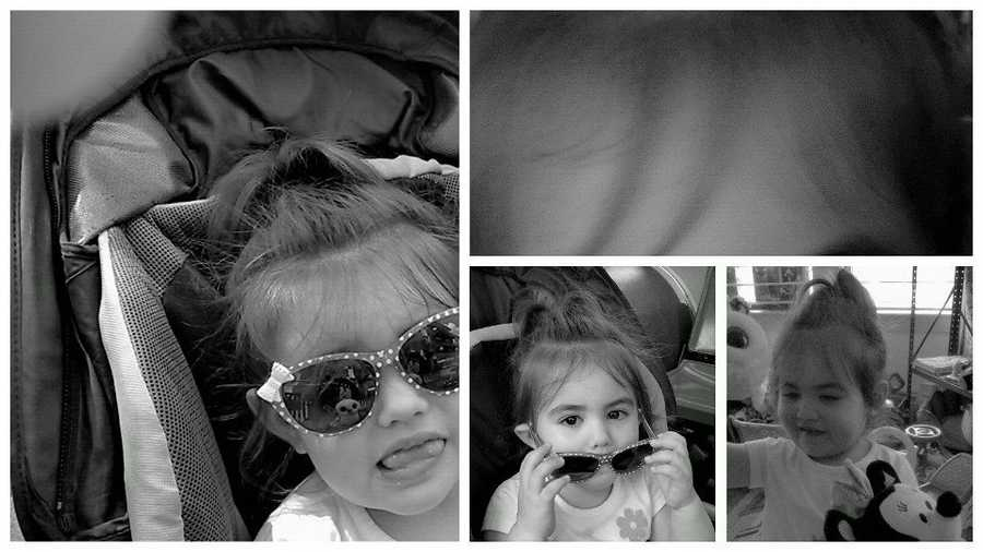 """Photos of """"Baby Doe,"""" who has been identified as a girl named Bella Bond, who lived in Boston."""