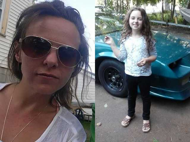 Chichester police were trying to track down a mother and daughter on Monday morning.