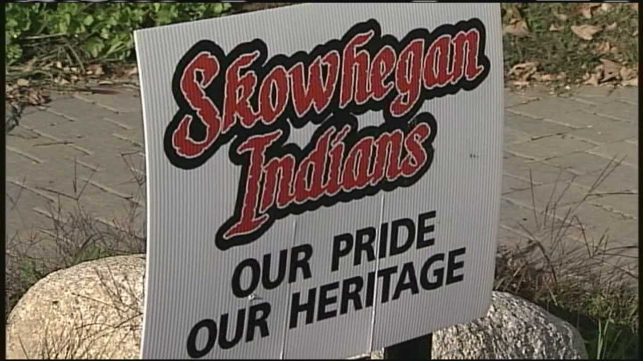 Is it a rally to support the Skowhegan community or a snub of Maine's Native American community?