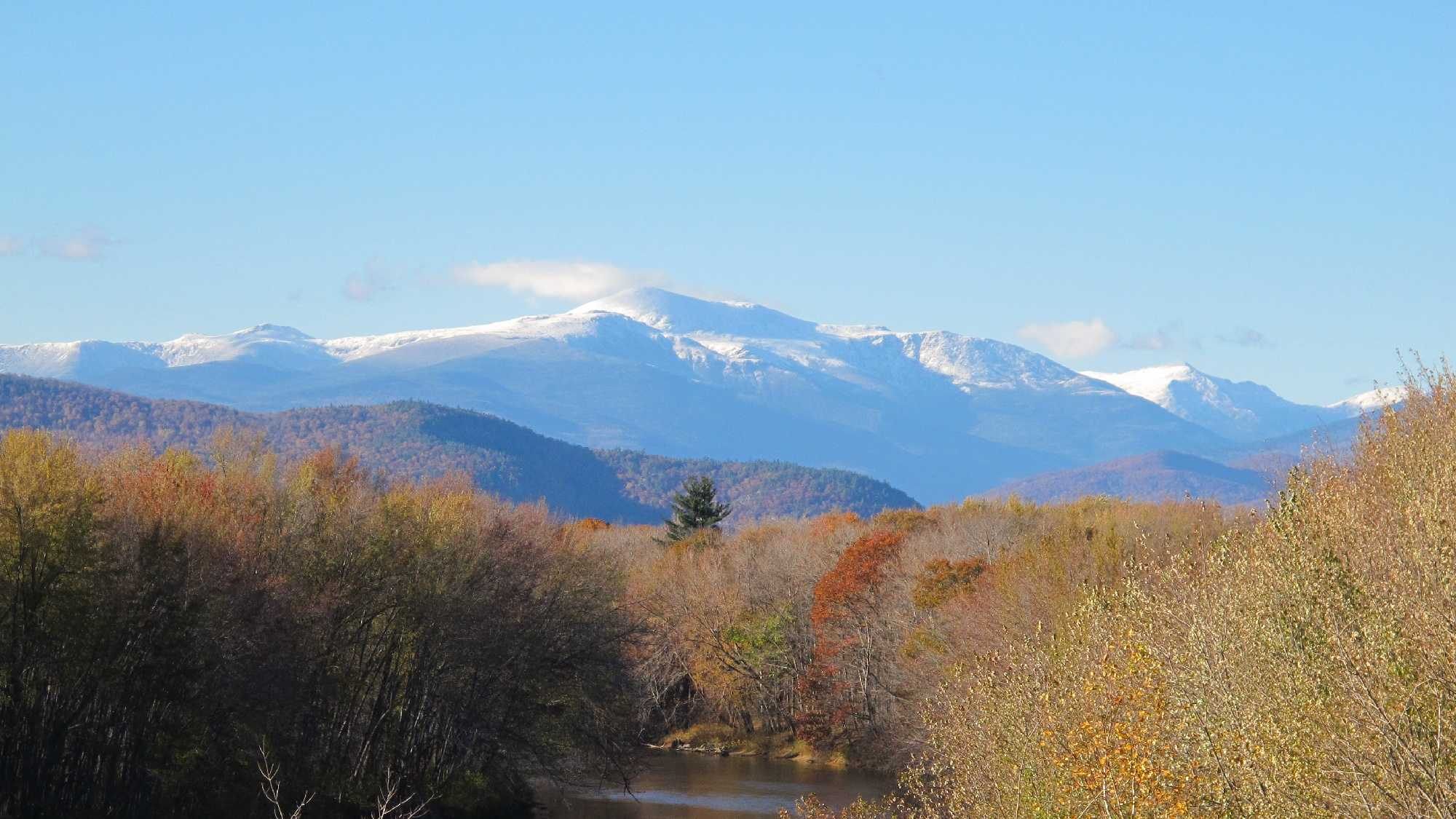 New Hampshire's White Mountains contain 48 majestic peaks that stand more than 4,000 feet tall. The Appalachian Mountain Club recognizes hikers who climb all four dozen. Scroll through to explore.Note: Some photos show the mountains from a distance, while others show the view from atop the summit.