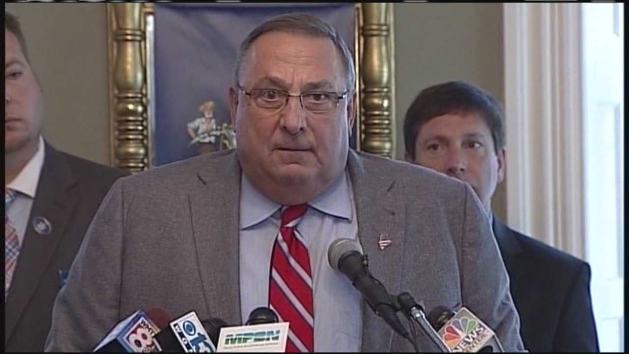 Gov. Paul LePage sent a letter to Republicans calling for State Sen. Roger Katz to recuse himself as co-chair of the committee investigating the governor's actions. Katz then responded saying he would not step down.