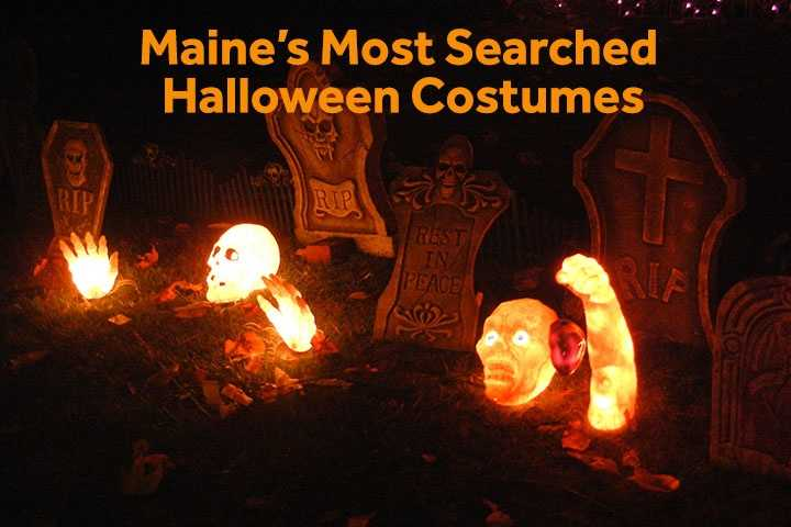 Still trying to figure out your Halloween costume? Google has compiled the most searched costumes across the country. Check out the top 5 searches in Portland, Bangor and Presque Isle, according to Google Frightgeist.