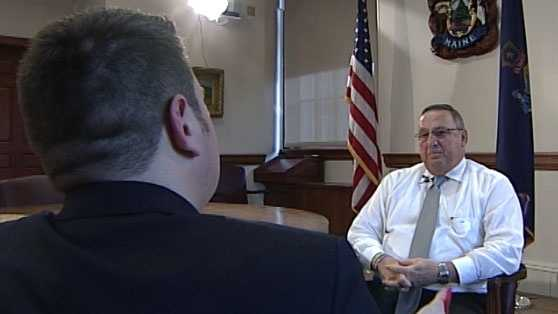 Maine Gov. Paul LePage does not believe current treatment programs are working and said he would rather see money spent toward prevention education and drug agents.