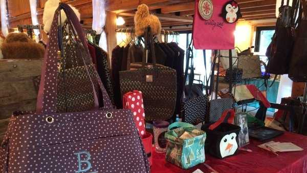 18 vendors selling everything from handmade jewelry, bags, even toys benefit kids in the Lewiston-Auburn at the Santa's Helpers Shopping Expo and Toy Drive.