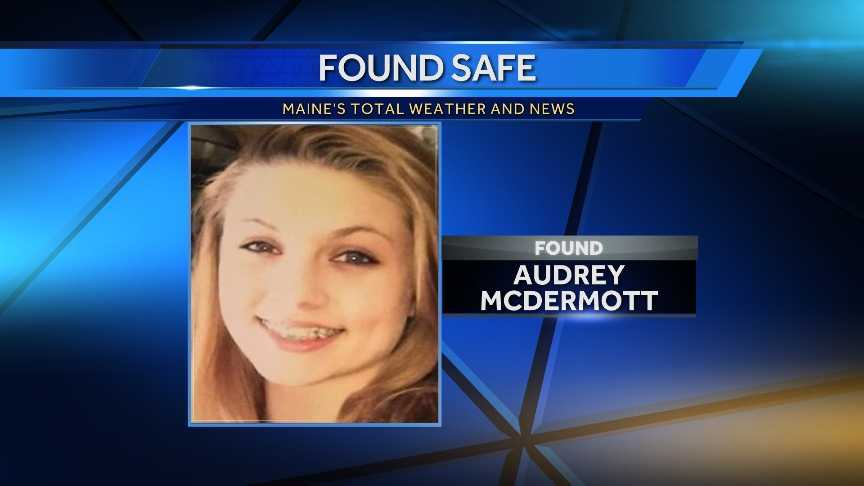 Audrey McDermott had been missing since Wednesday evening.